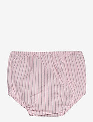 Ralph Lauren Baby - CORDED YD STRIPE-TIERED DRESS-DR-WV - dresses - pink white - 3