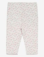 Ralph Lauren Baby - PRINTED INTERLOCK-REVERS PANT-BT-PN - trousers - floral multi - 0
