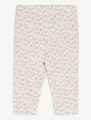 Ralph Lauren Baby - PRINTED INTERLOCK-REVERS PANT-BT-PN - trousers - floral multi - 1