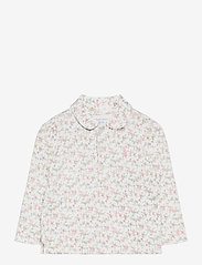 Ralph Lauren Baby - PRINTED INTERLOCK-FLORAL POLO-TP-KN - poloer - multi floral - 0