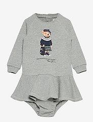 Ralph Lauren Baby - ATLANTIC TERRY-TERRY DRESS-DR-KNT - kjoler - spring heather - 0
