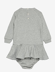 Ralph Lauren Baby - ATLANTIC TERRY-TERRY DRESS-DR-KNT - dresses - spring heather - 1