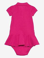 Ralph Lauren Baby - Piqué Polo Dress & Bloomer - jurken - accent pink/colby - 1