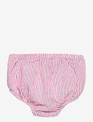 Ralph Lauren Baby - Tiered Seersucker Dress & Bloomer - kjoler - pink/white - 3