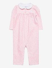 Ralph Lauren Baby - Floral Cotton Interlock Coverall - langärmelig - pink white multi - 0