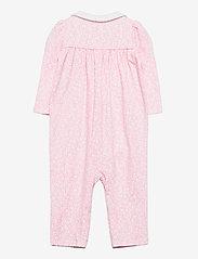 Ralph Lauren Baby - Floral Cotton Interlock Coverall - langärmelig - pink white multi - 1