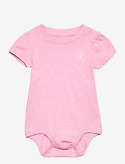 Ralph Lauren Baby - Jersey Tee Bodysuit - kurzärmelige - carmel pink - 0