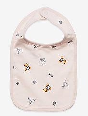 Ralph Lauren Baby - Polo Bear Interlock Bib - lätzchen - pink multi - 0