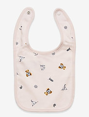 Ralph Lauren Baby - Polo Bear Interlock Bib - lätzchen - pink multi - 1