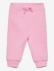 Ralph Lauren Baby - Fleece Hoodie & Pant Set - tracksuits - carmel pink - 2