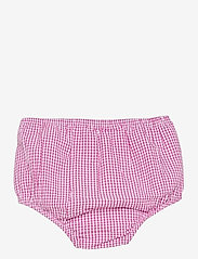 Ralph Lauren Baby - Gingham Cotton Seersucker Dress - kleider - pink/white - 3