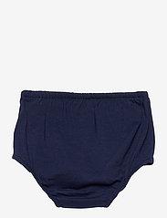 Ralph Lauren Baby - Logo Ruffled Tee Dress & Bloomer - kleider - french navy - 3