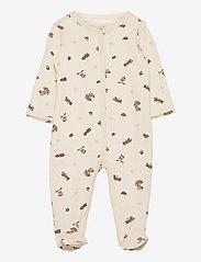 Ralph Lauren Baby - Polo Bear Interlock Coverall - langärmelig - baby girl bear pr - 0