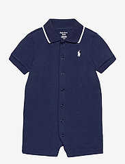 Ralph Lauren Baby - Cotton Interlock Polo Shortall - kurzärmelig - french navy - 0