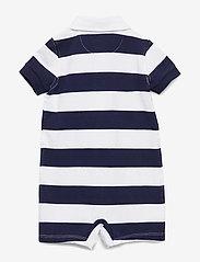 Ralph Lauren Baby - Striped Cotton Rugby Shortall - kurzärmelig - french navy multi - 1