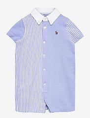 Ralph Lauren Baby - Knit Oxford Fun Shortall - kurzärmelig - harbor island blu - 0