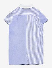 Ralph Lauren Baby - Knit Oxford Fun Shortall - kurzärmelig - harbor island blu - 1