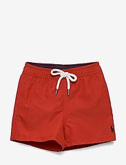 Ralph Lauren Baby - Traveler Swim Trunk - badehosen - rl 2000 red - 0