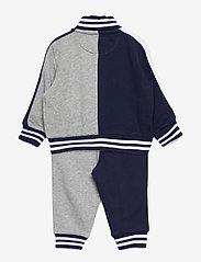 Ralph Lauren Baby - Cotton Terry Jacket & Pant Set - tracksuits - newport navy mult - 1