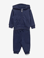 Ralph Lauren Baby - French Terry Hoodie & Pant - hoodies - french navy - 0