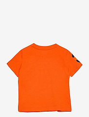 Ralph Lauren Baby - Big Pony Cotton Jersey Tee - kortærmede - sailing orange - 1