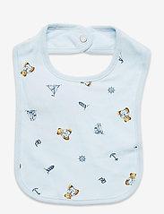 Ralph Lauren Baby - Polo Bear Interlock Bib - lätzchen - blue multi - 0