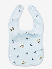 Ralph Lauren Baby - Polo Bear Interlock Bib - lätzchen - blue multi - 1