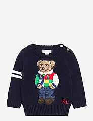 Ralph Lauren Baby - Polo Bear Cotton Sweater - strik - rl navy - 0