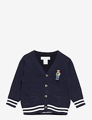 Ralph Lauren Baby - Polo Bear Cotton Cardigan - gilets - rl navy - 0