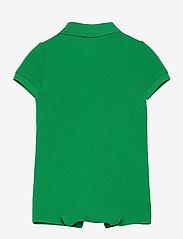 Ralph Lauren Baby - Big Pony Cotton Mesh Polo Shortall - kurzärmelig - golf green - 1