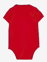 Ralph Lauren Baby - Big Pony Logo Jersey Bodysuit - short-sleeved - rl 2000 red - 1