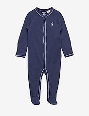 Ralph Lauren Baby - SOLID-ONE PIECE-COVERALL - langärmelig - french navy - 0