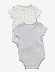 Ralph Lauren Baby - Cotton Bodysuit 2-Piece Set - short-sleeved - quartz heather - 1