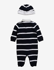 Ralph Lauren Baby - Coverall, Hat, & Bear Gift Set - langærmede - french navy m - 1