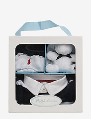 Ralph Lauren Baby - Coverall, Hat, & Bear Gift Set - langærmede - french navy m - 2