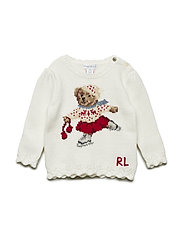Holiday Bear Sweater - TROPHY CREAM