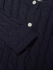 Ralph Lauren Baby - Cotton Peplum Cardigan - cardigans - rl navy - 2