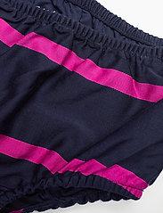 Ralph Lauren Baby - Striped Sateen Dress & Bloomer - dresses - french navy multi - 4