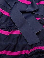 Ralph Lauren Baby - Striped Sateen Dress & Bloomer - dresses - french navy multi - 6