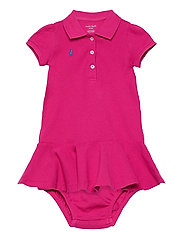 Piqué Polo Dress & Bloomer - ACCENT PINK/COLBY