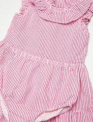 Ralph Lauren Baby - Tiered Seersucker Dress & Bloomer - kjoler - pink/white - 4