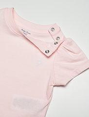 Ralph Lauren Baby - Jersey Tee Bodysuit - kurzärmelige - delicate pink - 2