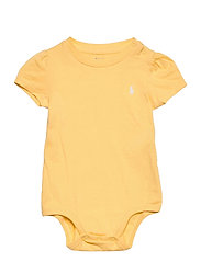 Jersey Tee Bodysuit - EMPIRE YELLOW