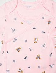 Ralph Lauren Baby - Polo Bear Bodysuit 2-Piece Set - kurzärmelige - pink multi - 4