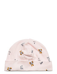 Polo Bear Interlock Hat - PINK MULTI