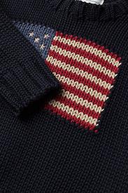 Ralph Lauren Baby - Flag Cotton Sweater - neuleet - hunter navy - 2