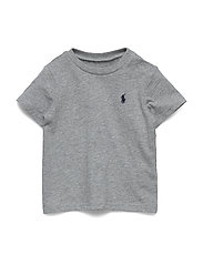 Cotton Jersey Crewneck Tee - ANDOVER HEATHER