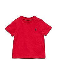 Cotton Jersey Crewneck T-Shirt - RL 2000 RED