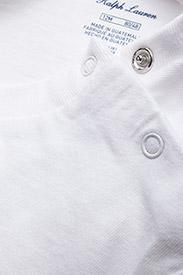 Ralph Lauren Baby - Cotton Jersey Crewneck Tee - lyhythihaiset - white - 3