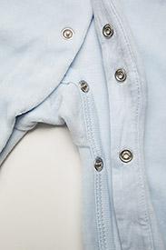 Ralph Lauren Baby - Cotton-Blend-Velour Coverall - langärmelig - beryl blue - 3